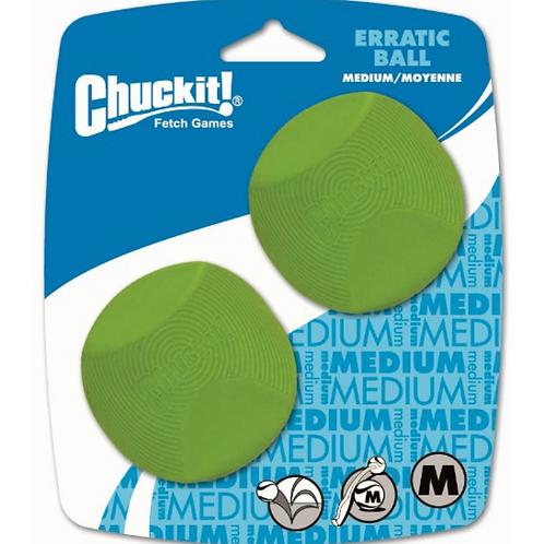 Canine Hardware Medium Erratic Ball 2 Pack