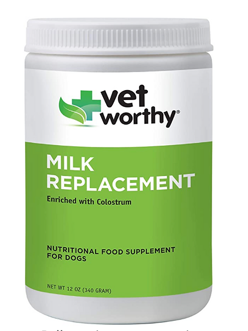 Vet Worthy Milk Replacement for Dogs