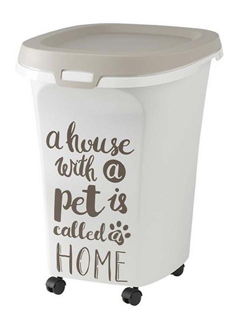 Moderna Storage Container Pet Wisdom Warm Gray 40lbs