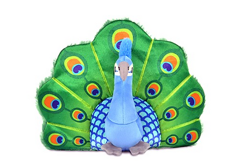 P.L.A.Y. FETCHING FLOCK PERCY THE PEACOCK TOY