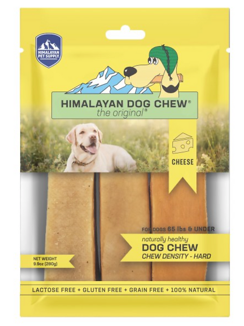 Himalayan Dog Chew Yellow Under 65lbs
