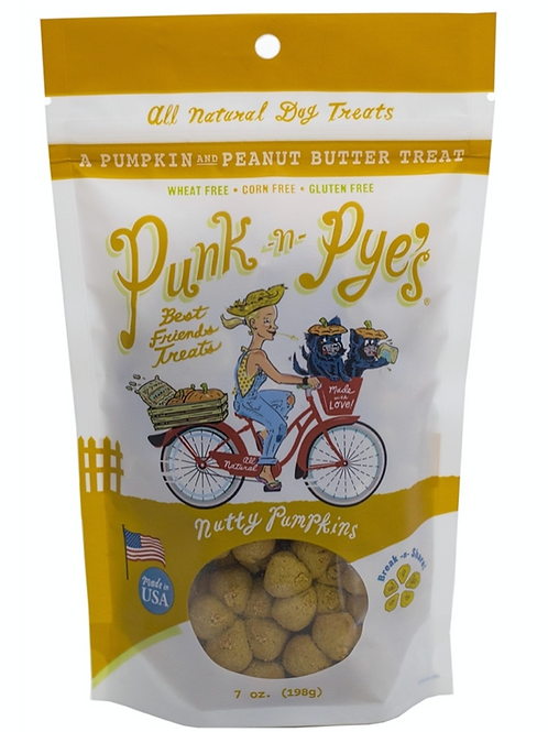 Punk N Pye's Nutty Pumpkins Treats 7oz
