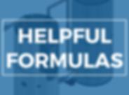 CONVERSION FACTORS AND HELPFUL FORMULAS