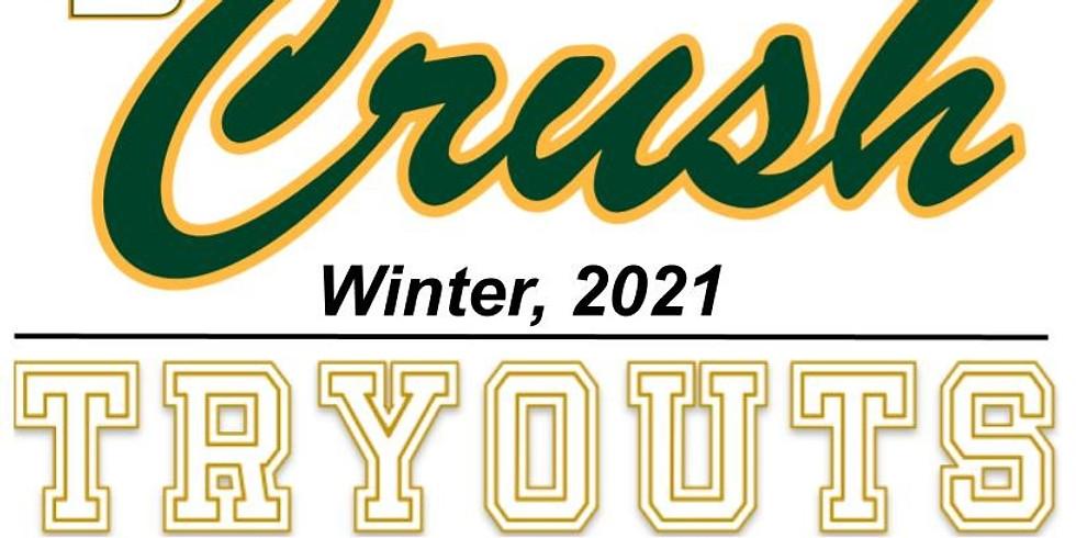 Crush Baseball Winter 2021 Tryouts