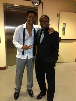 Ted and Eric Benet