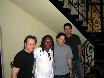 John Patitucci, Frank Gambale, Dave Weckl and I _ The Suisse-Majestic hotel