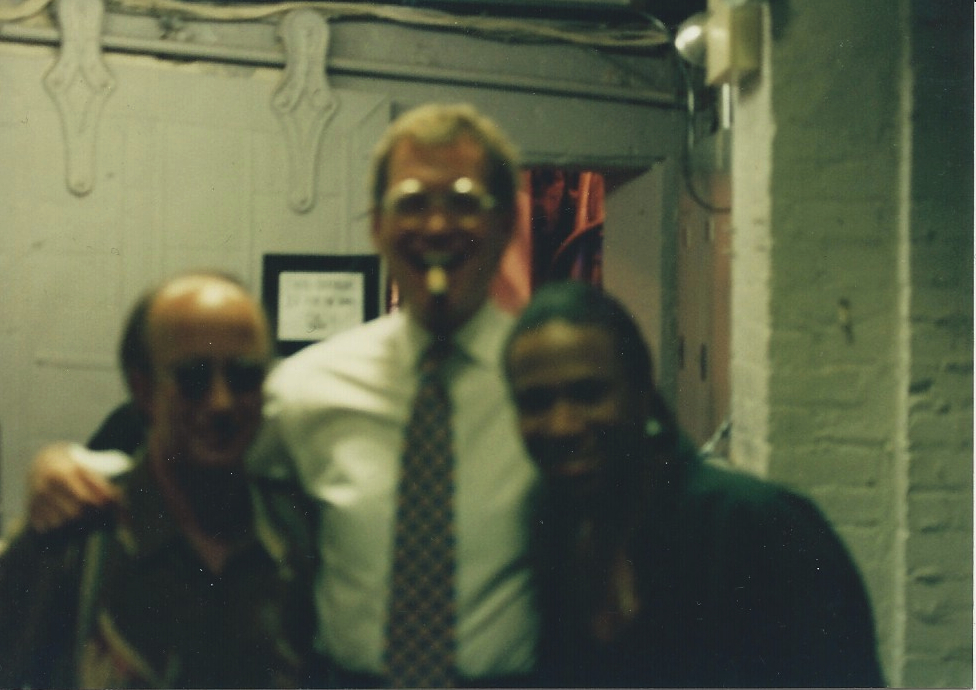 Ted, David Letterman, Paul Schaefer