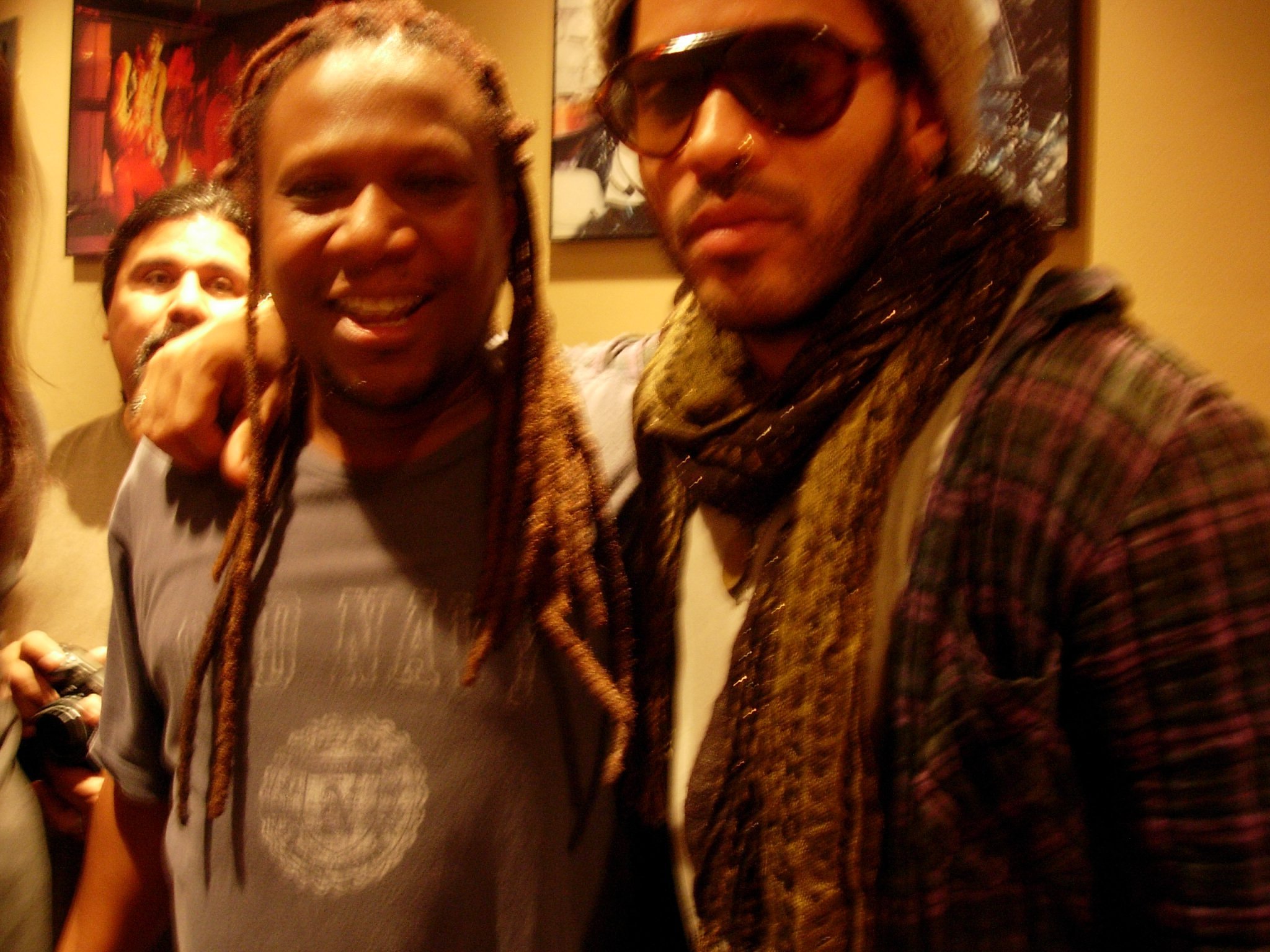 Ted and Lenny Kravitz