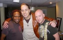 Ted, Chris Codish and Urban Kris