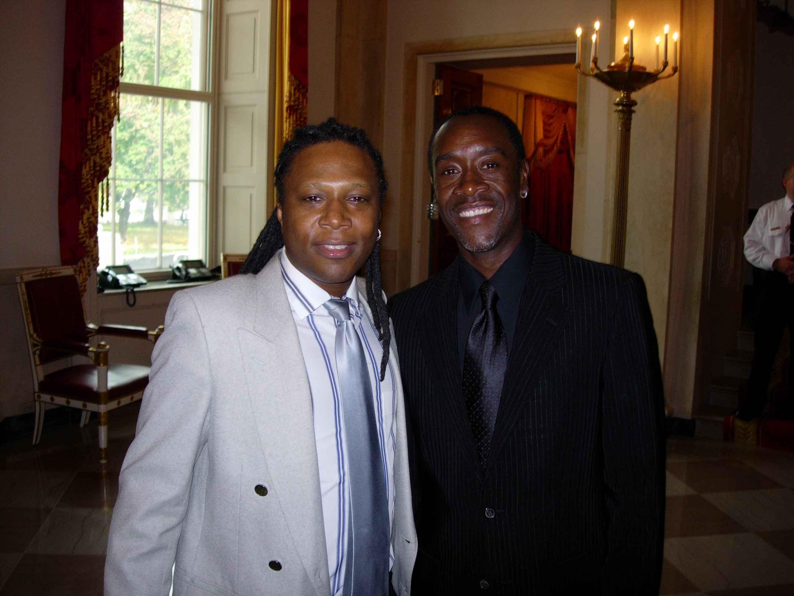 Ted and Don Cheadle