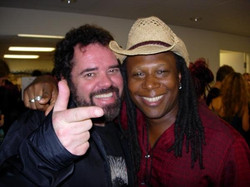 Backstage with INXS keyboardist Andrew Farriss, Los Angeles