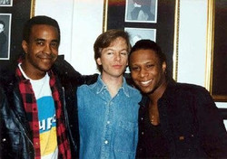 Ted, Dave Meadows and David Spade