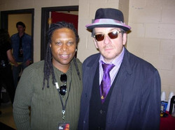 Backstage with Elvis Costello _ Sam Cook Tribute