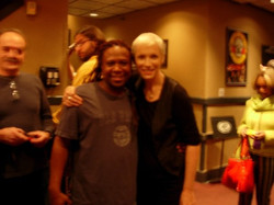 Ted and Annie Lennox