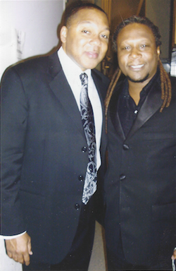 Ted and Wynton Marsalis