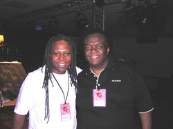 Ted and Lamont Dozier in Germany