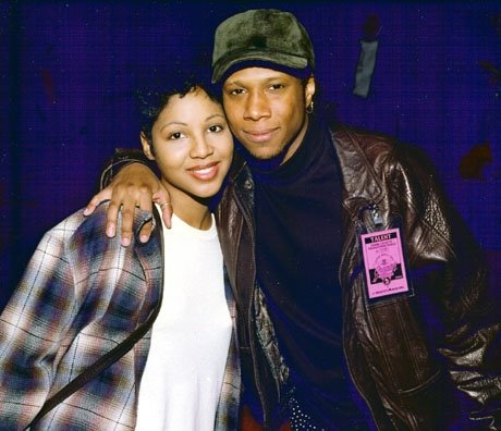 Ted and Toni Braxton