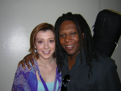 Ted and Allison Hannigan