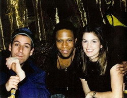Ted, Adam Sandler and Cindy Crawford