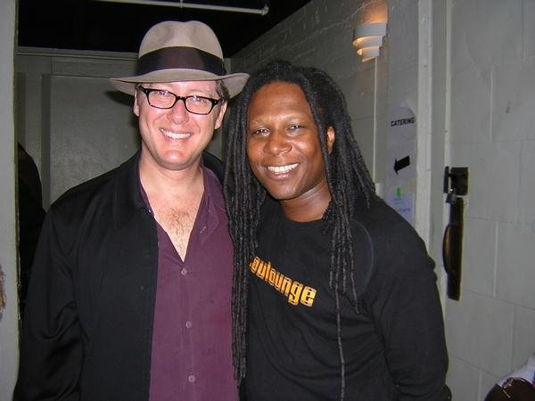 Backstage and James Spader