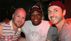 Ted, Urban Kris and Crayne Spanier