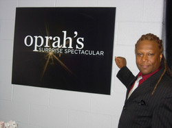 Ted at Oprah's Surprise Spectacular