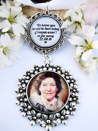 Photo and Quote Memory Charm