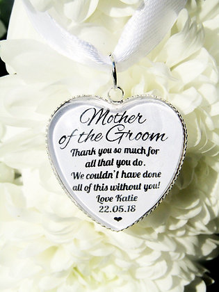 Mother of the Groom 'All that you do' Bouquet Charm