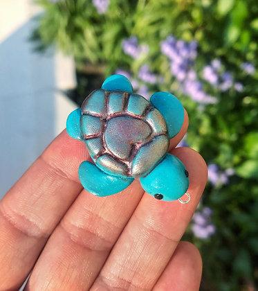 Blue & Pink Turtle