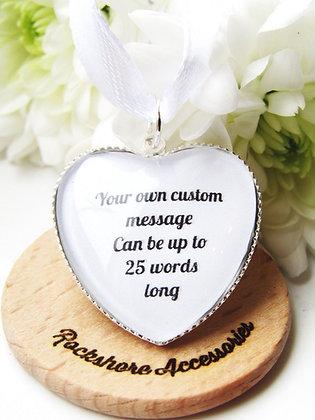 Custom Bouquet Charm
