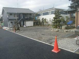 緑区庭整備工事 (1)