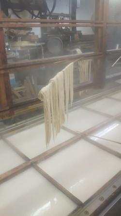 大豆から豆乳を作り
