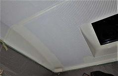 天井塗装 2回目
