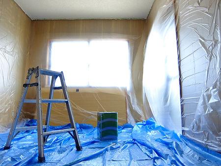 屋内塗装養生