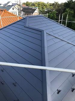 屋根の葺き替え(後)