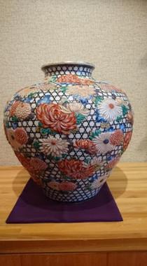 古陶磁器壺