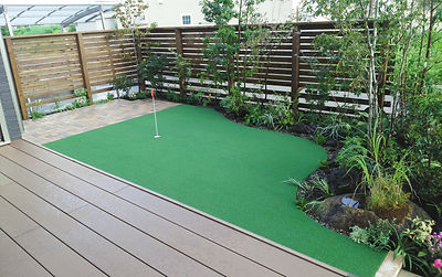 庭の空間プロデュース
