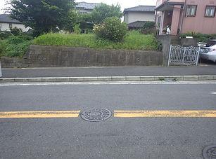 歩道切り下げ(車乗り入れ)工事 (1)