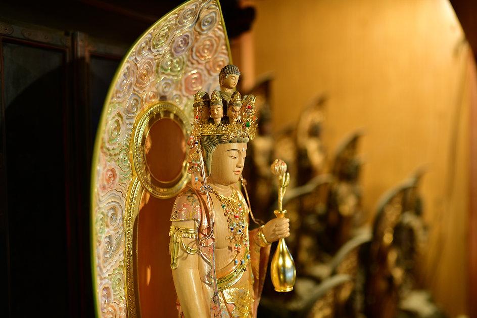 恵運寺の仏像