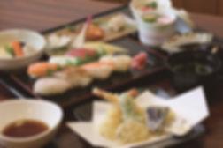 にぎり・天ぷら御膳 2000円