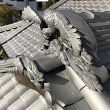 民家屋根飾り