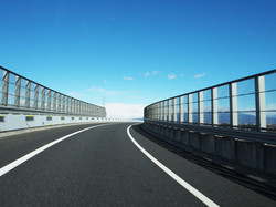 高速道路の遮音壁