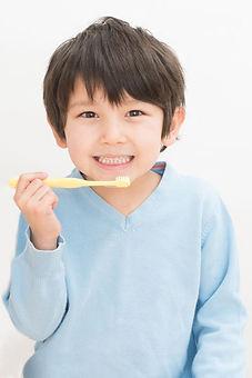 歯磨き男子
