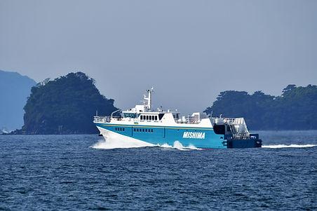 萩見島間定期船