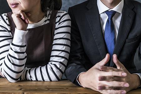 離婚協議中の夫婦