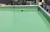 屋上塗装後