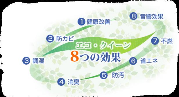 8つの効果