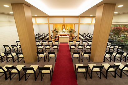 広島市民葬儀の大式場(150名様まで)