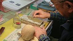 彫刻刀研磨