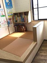 畳の待合室